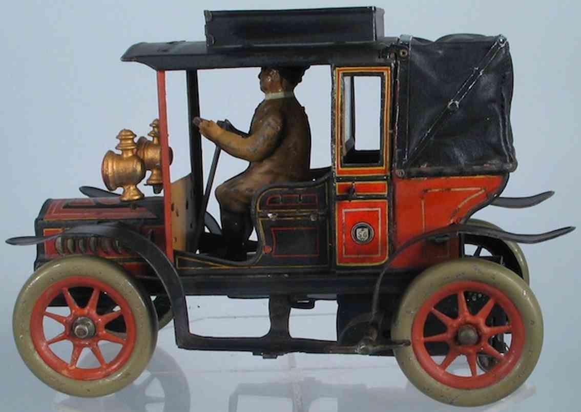 Günthermann Oldtimer Taxi mit Fahrer und Uhrwerk
