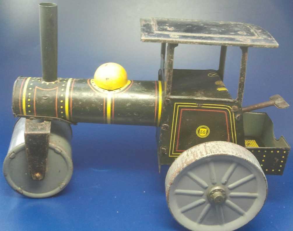 Günthermann Spielzeug Strassenwalze mit Uhrwerk