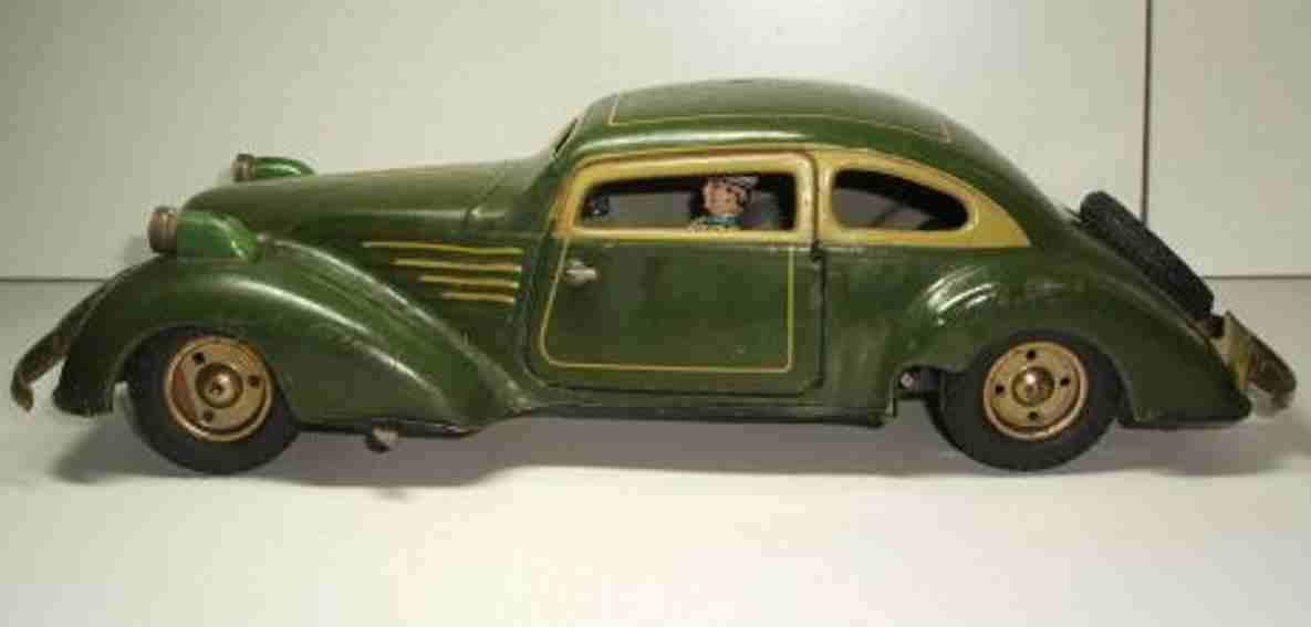 Günthermann Oldtimer Auto mit Uhrwerk und Elektroscheinwerfer