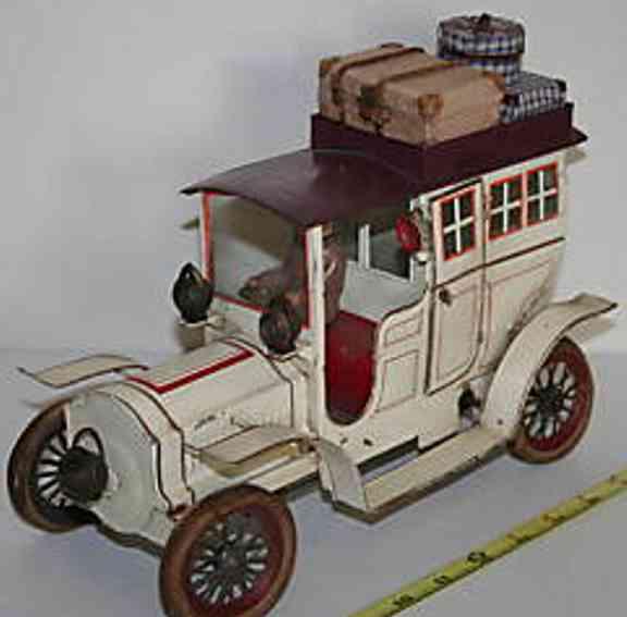 Günthermann Oldtimer Limousine mit Gepäck