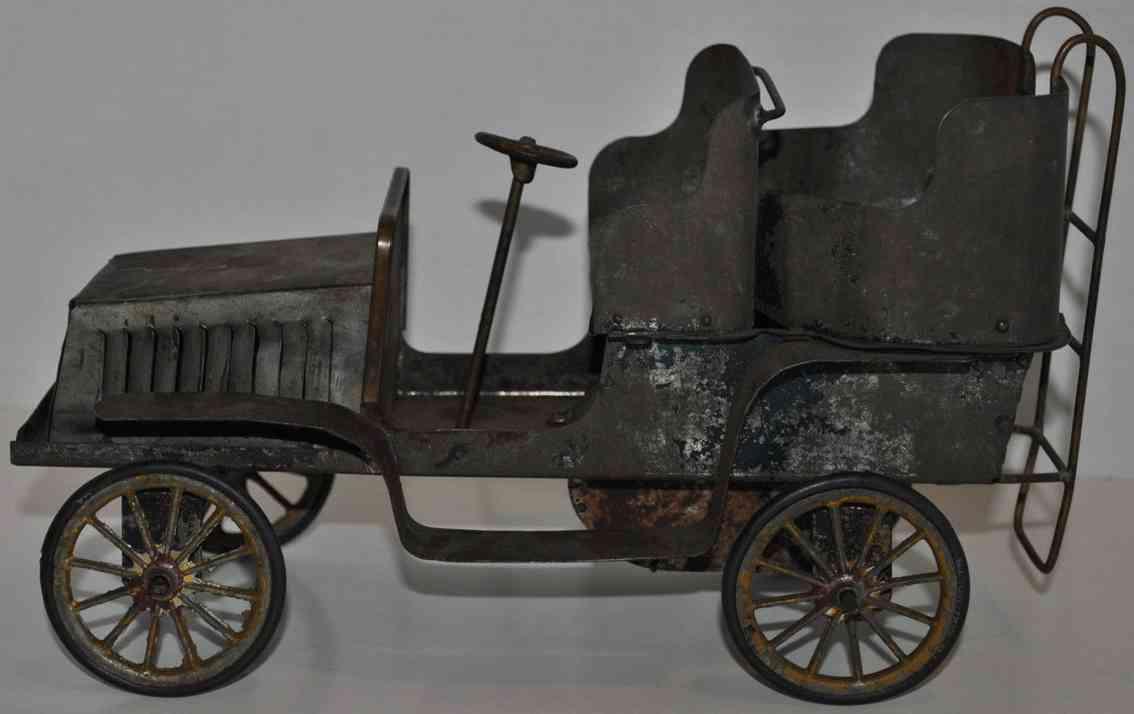 hafner blech spielzeug auto tourenwagen uhrwerk ledersitze