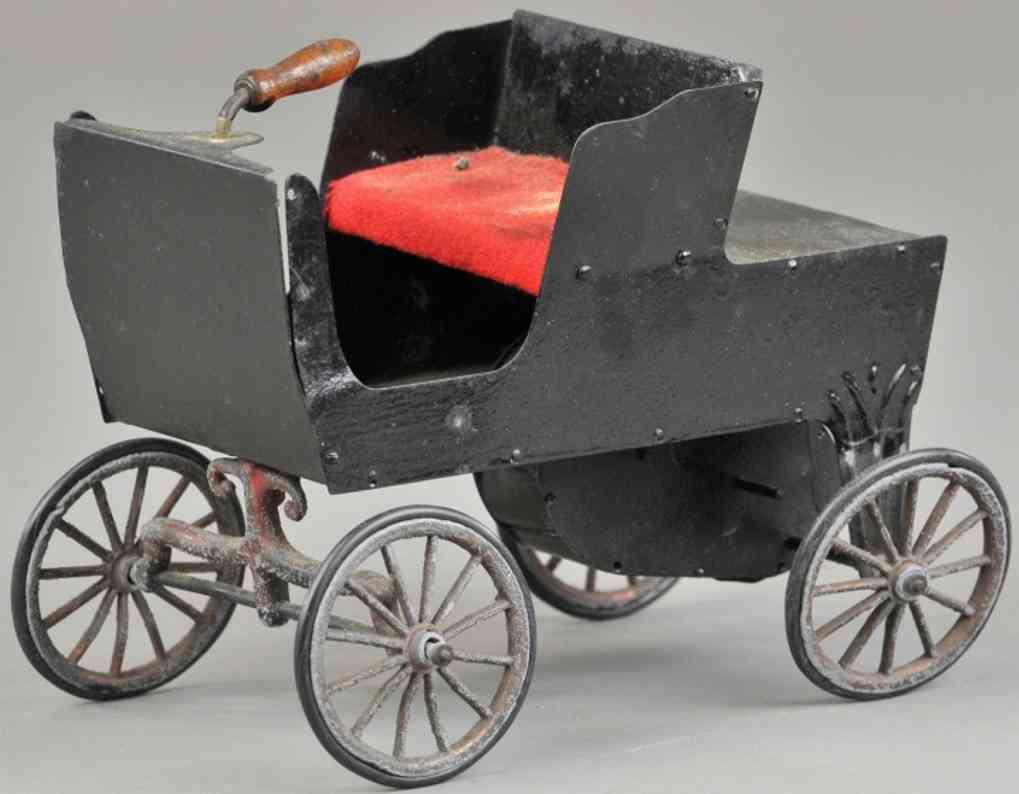 hafner blech spielzeug auto sportwagen schwarz uhrwerk