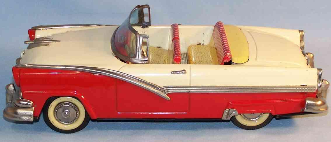 haji mansei toys co ltd a-84-8374 tin car ford sunliner