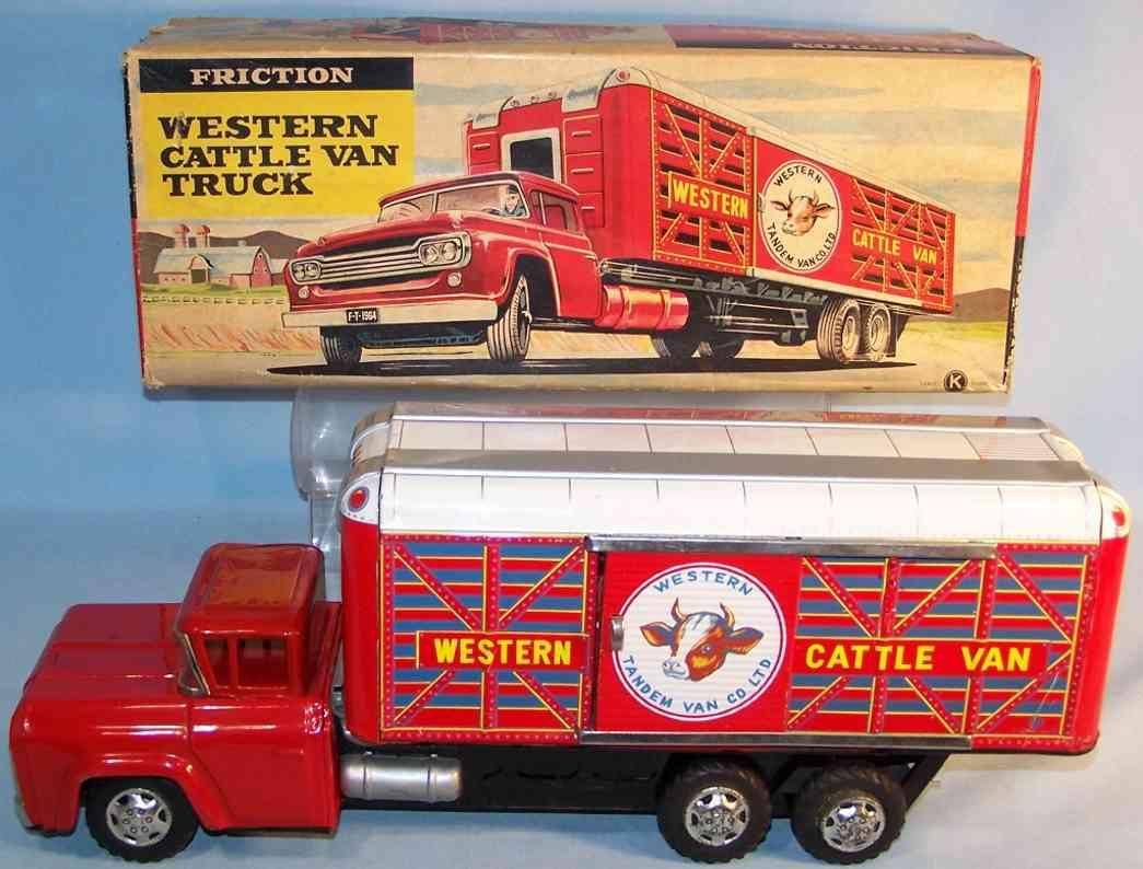 Harusame Western cattle-van