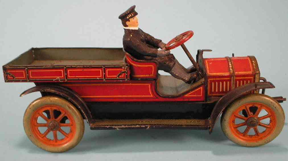 Hess 1040 Oldtimer Lieferwagen in rot