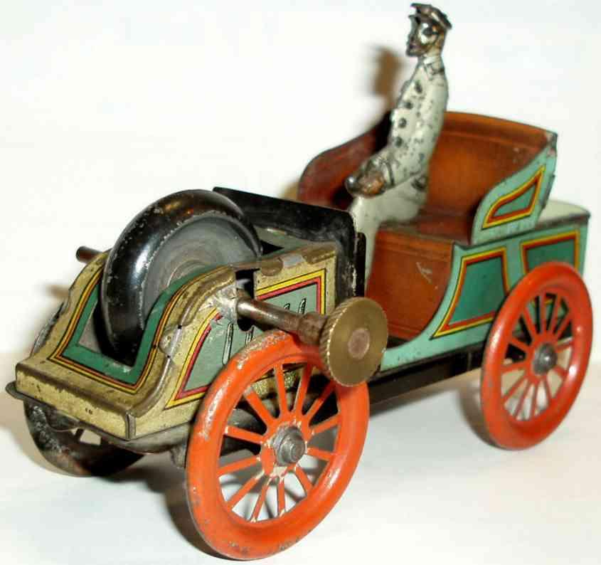 Hess 1051 Oldtimer Limousine mit Fahrer und Uhrwerk