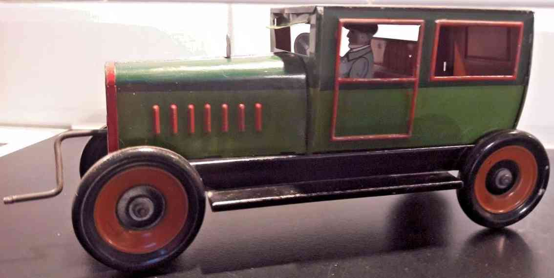 hess 1053 blech spielzeug auto limousine schwungradantrieb