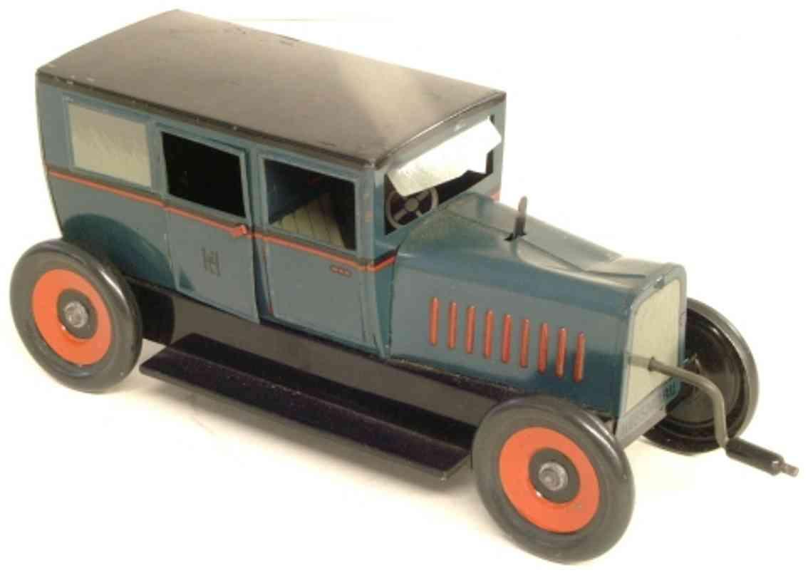 hess 1055 blech spielzeug auto hessmobil limousine schwungradantrieb kurbelwelle fahrer