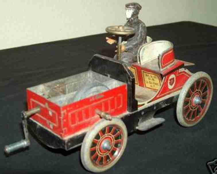 Hess Oldtimer Kraftfahrzeug aus Blech