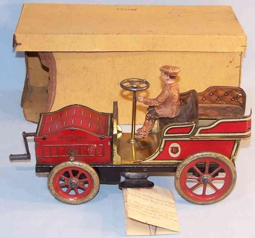 Hess Oldtimer Hessmobil mit Fahrer