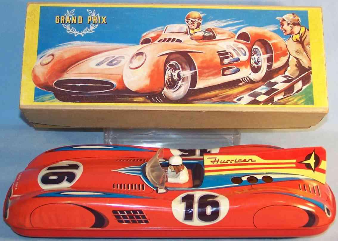 hofler j h 630 tin toy race car race car flywheel drive hurrican