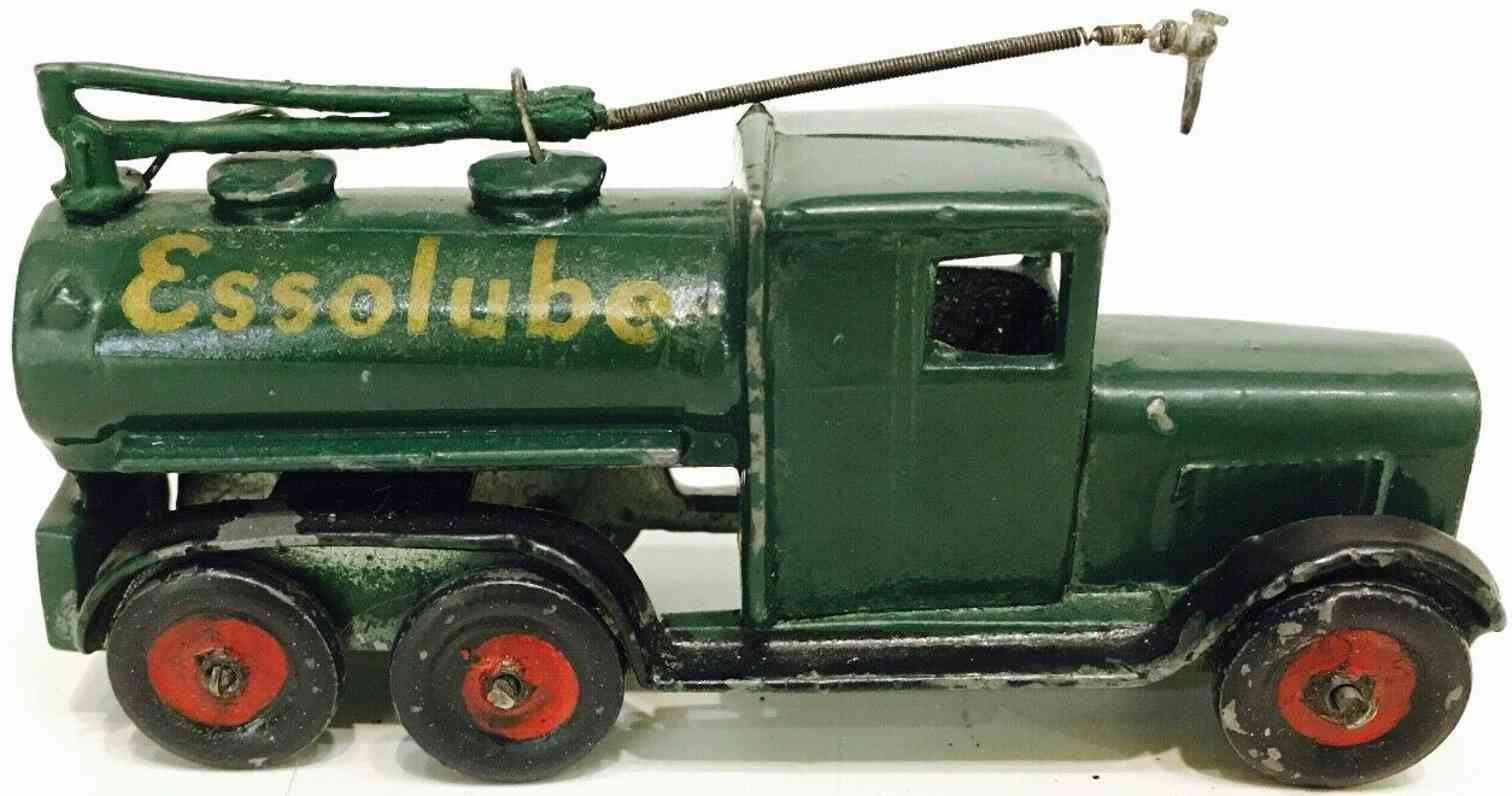 a. j. holladay and co toy skybirds essolube die-cast refueling tender truck