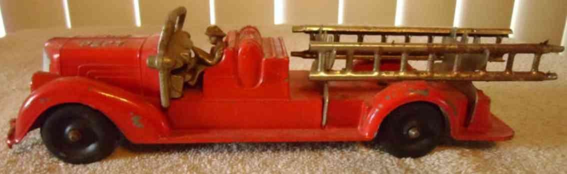 Hubley 473 Feuerwehr Leiterwagen