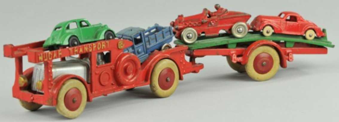hubley 776 spielzeug gusseisen autotransportwagen