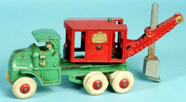 hubley cast iron toy truck mack truck general digger c mack