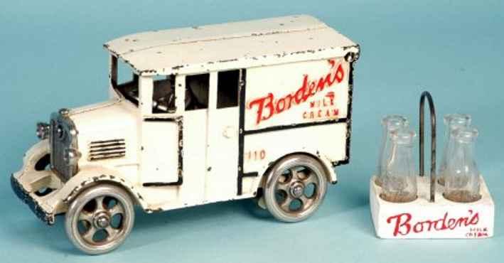Hubley 42 Borden's Milch-Lieferwagen