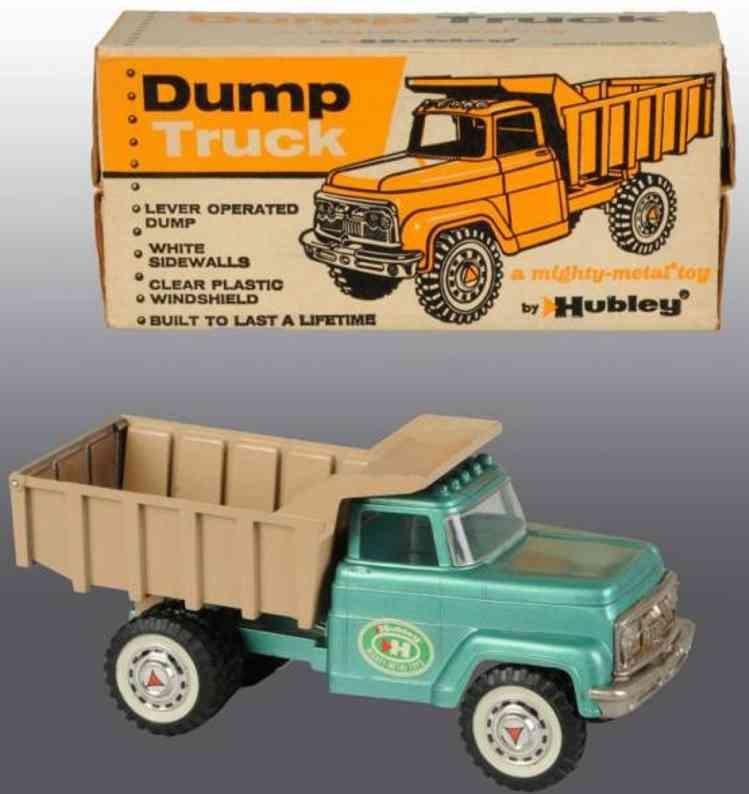 hubley cast iron toy dump truck