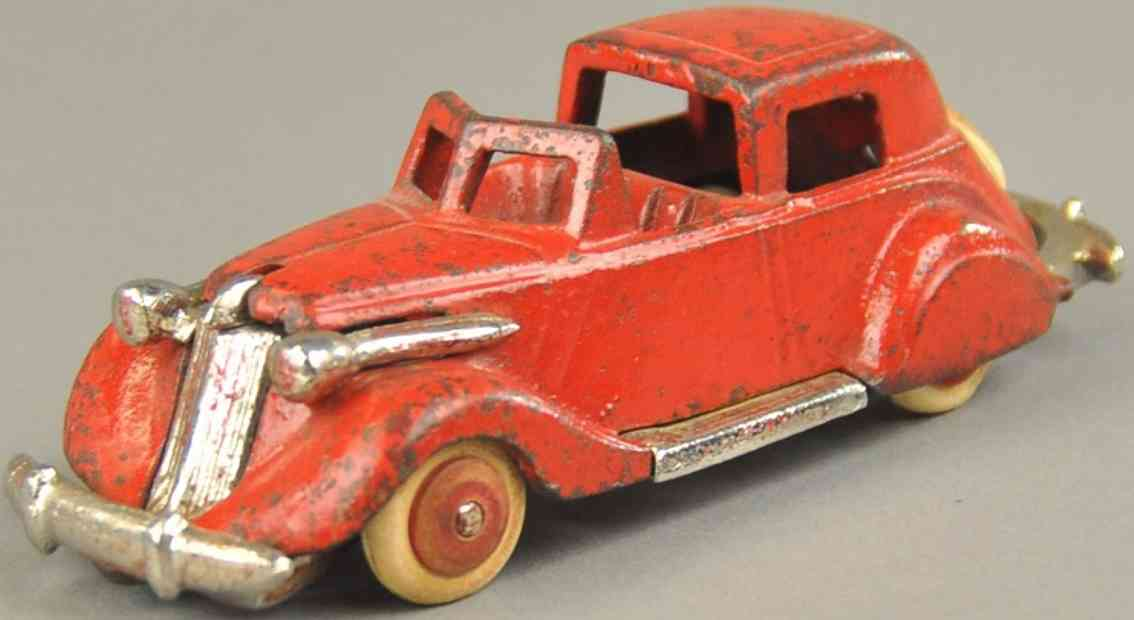 hubley spielzeug gusseisen auto studebaker stadtwagen rot