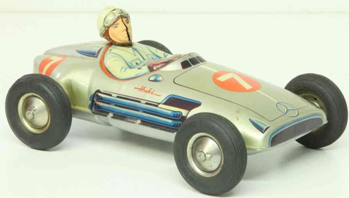 Huki Kienberger 7/1 Single-seater racing car number 7