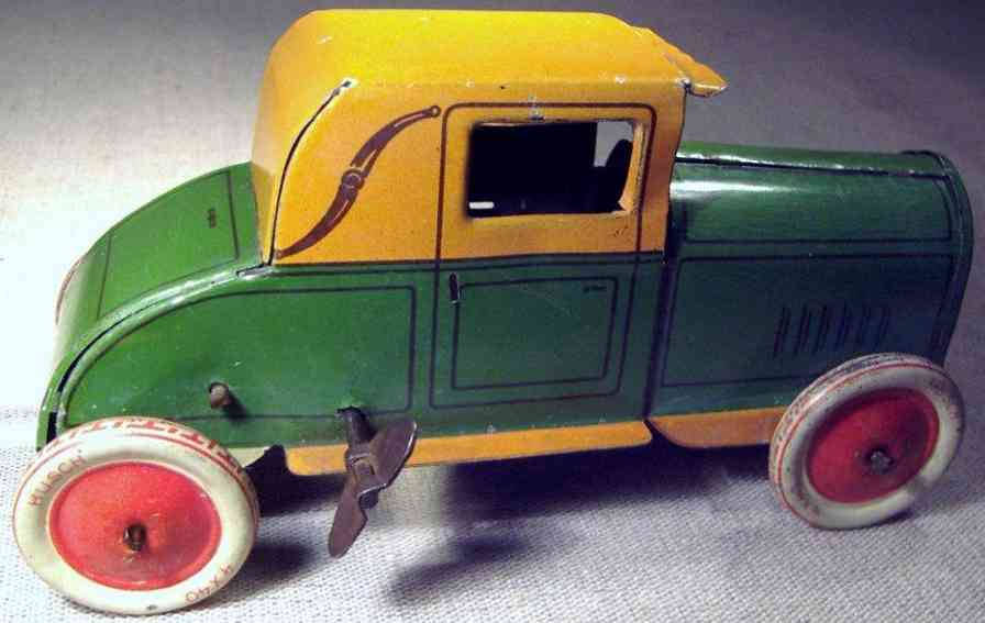 husch tin toy car car