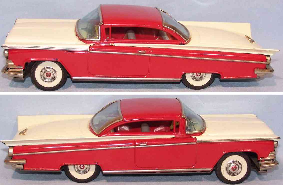 i y metal toys rot tin toy car buick coupe red