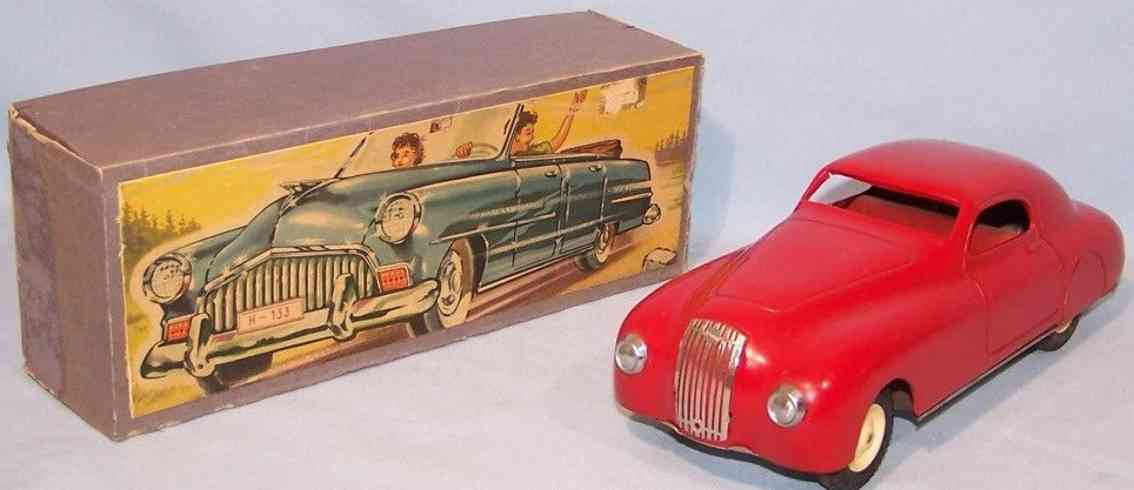 ingap 1100SS tin toy car alfa romeo red flywheel drive