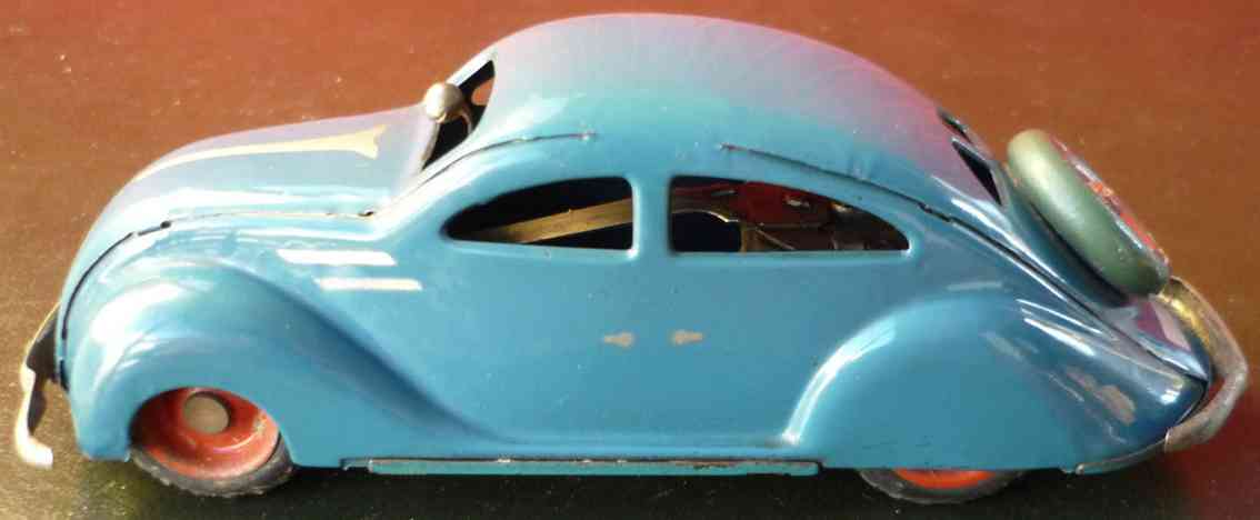 ingap 802 blech spielzeug padova stromlinienfoermiges aerodynamisches auto uhrwerk