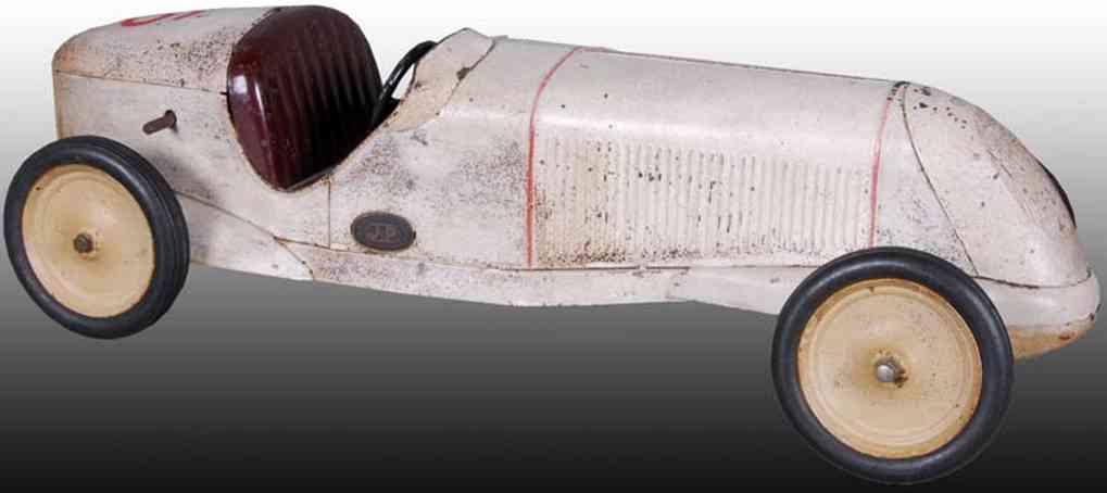 jep 6 tin toy tin wind-up race car
