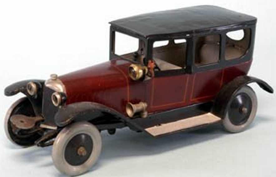JEP Oldtimer Luxusauto mit Uhrwerk