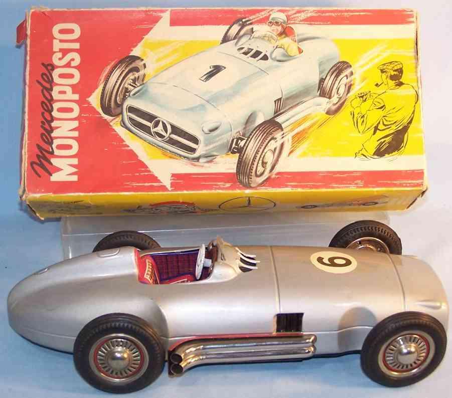 jnf neuhierl 80 tin toy single-seater racing car flywheel drive