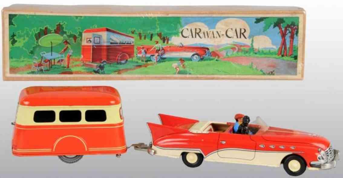 Joustra car with caravan