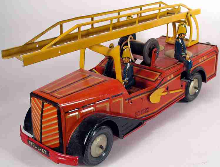 Joustra Feuerwehrleiterwagen