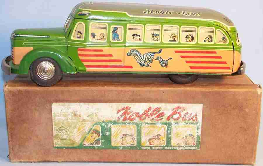 KKK Toy Noble Bus with many passengers