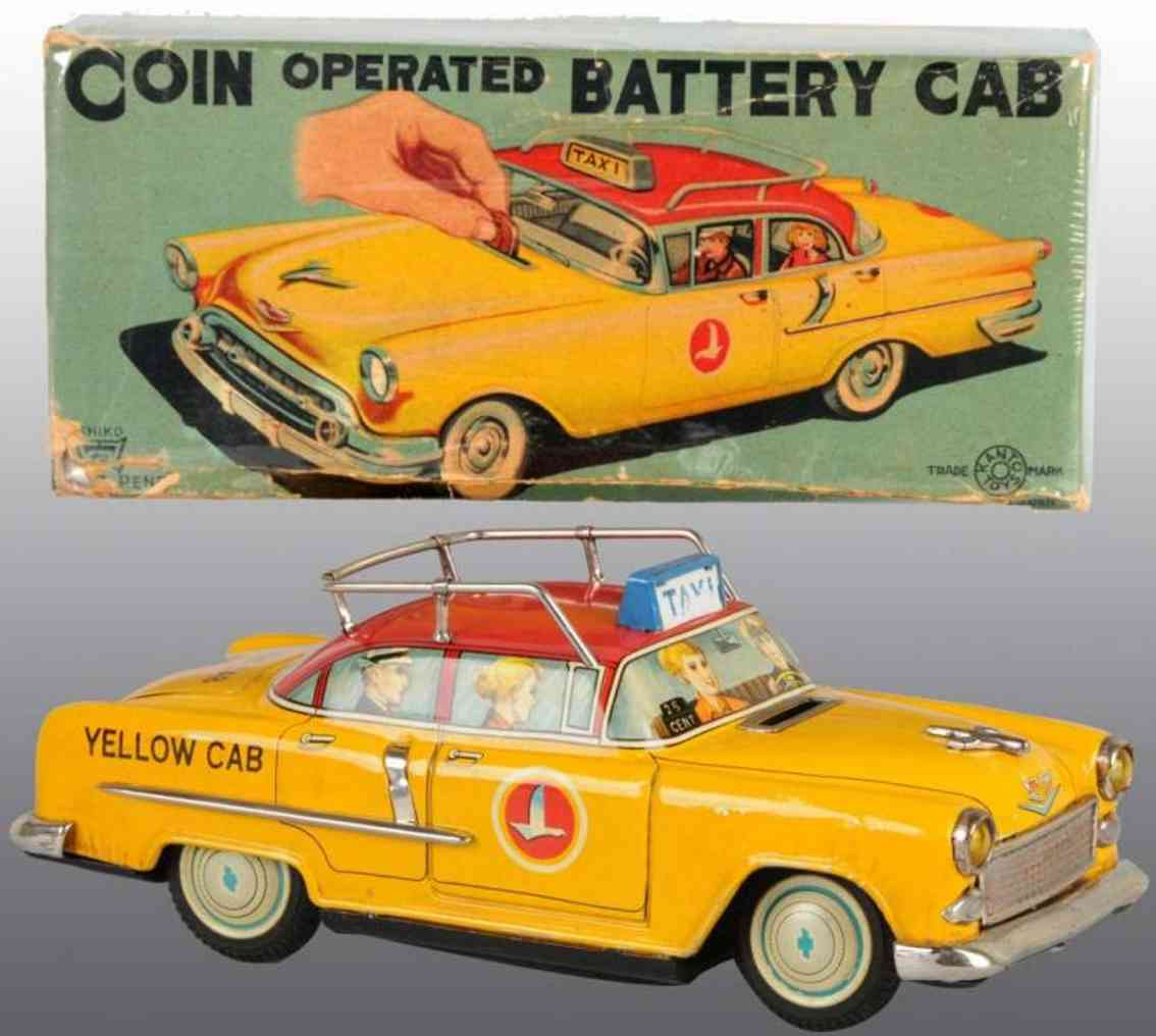 Kanto Coin operated battery yellow taxi