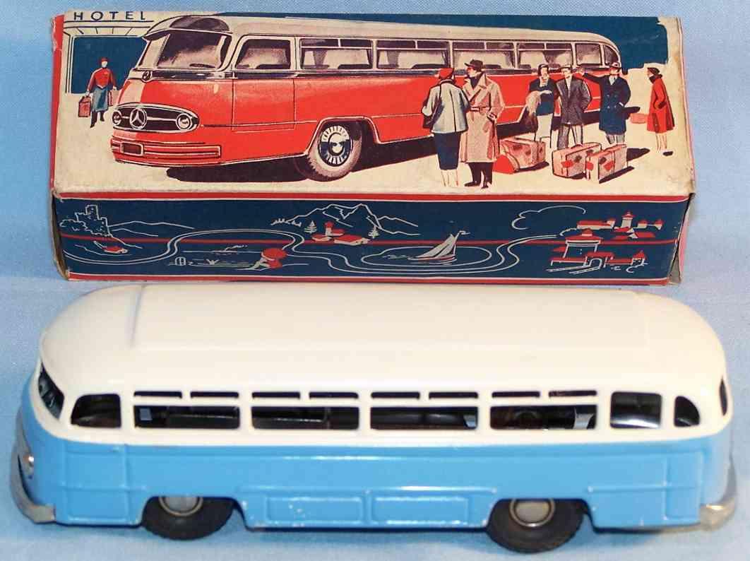 kellermann 381 blech mercedes benz omnibus schwungradantrieb rot blau weiss