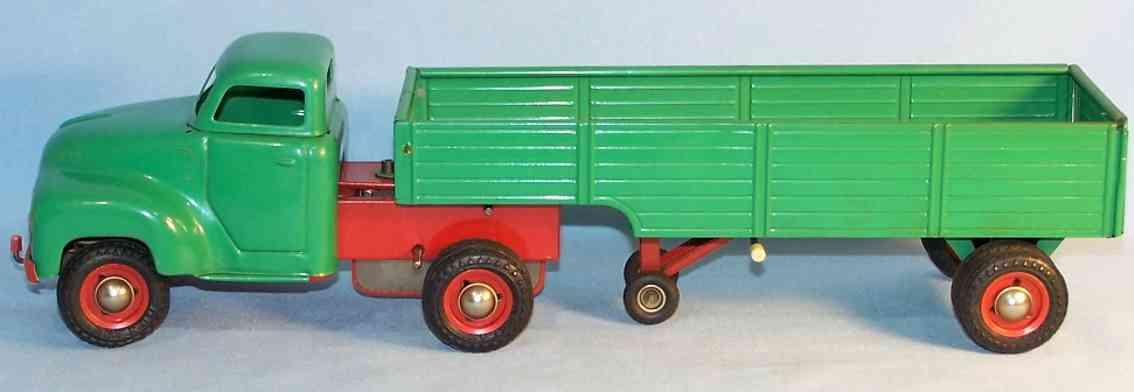 Kellermann 396 Lastwagen mit Anhänger