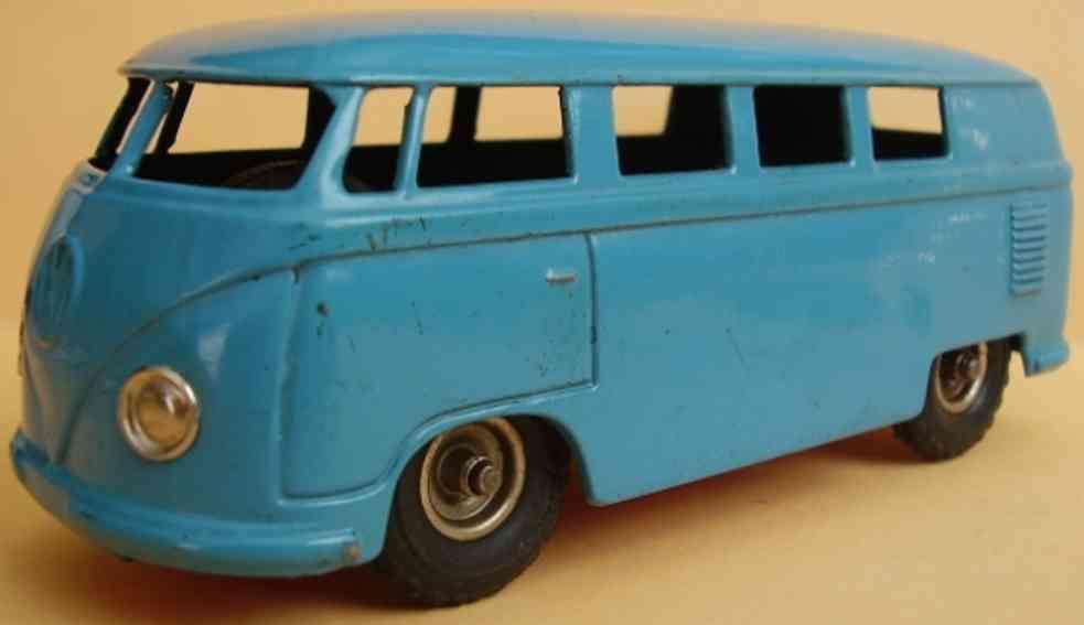 kellermann 401 blech spielzeug autobus vw-combi friktionsantrieb blau