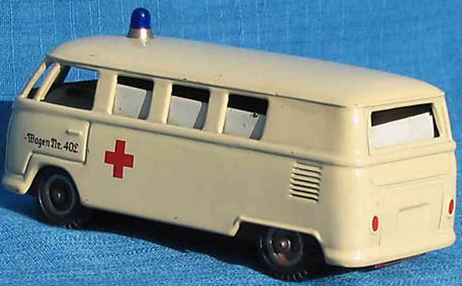 Kellermann 402 Bus VW Krankenwagen mit Friktionsantrieb