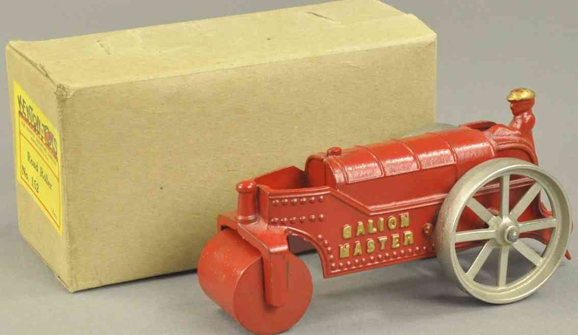 kenton hardware co 152 gusseisen strassenwalze rot galion master