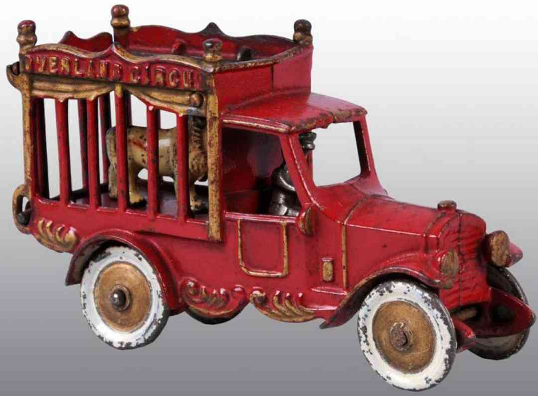 kenton hardware co 406 gusseisen zirkuskaefiglastwagen