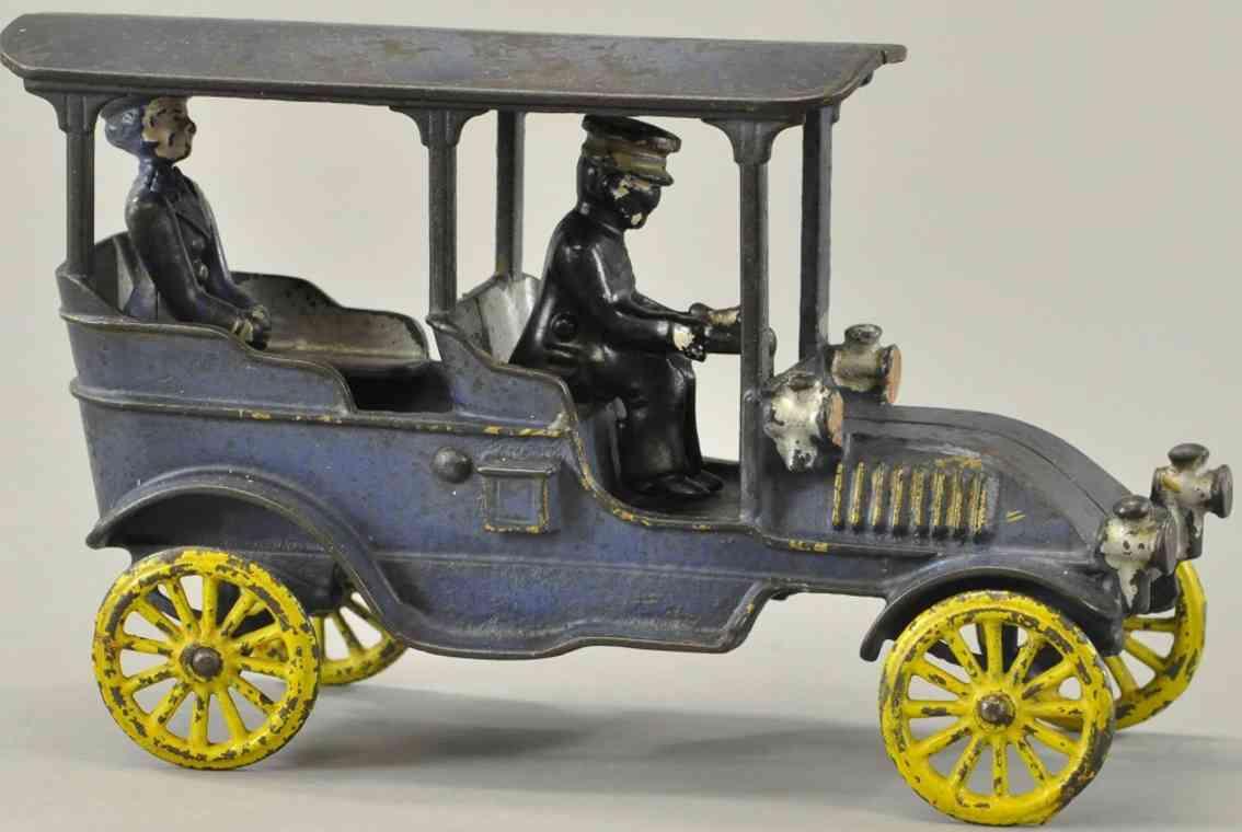 kenton hardware co spielzeug gusseisen auto franklin tourenwagen blau