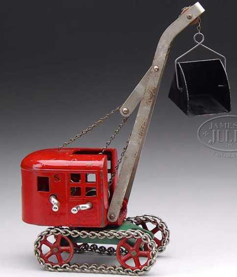 kenton hardware co spielzeug gusseisen schaufelbagger