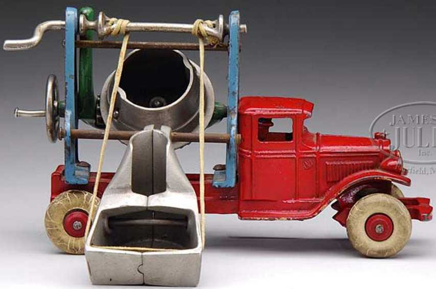 kenton hardware co gusseisen  rot  zementmischmaschine