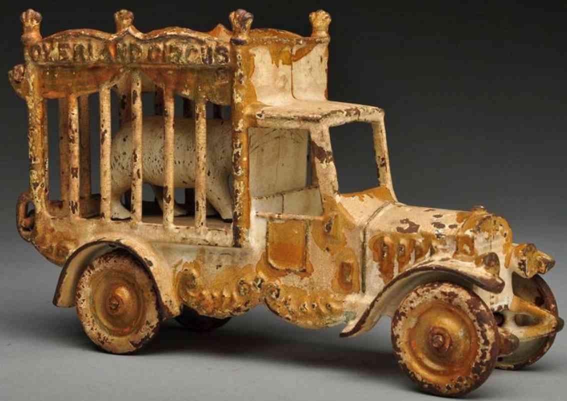 kenton hardware co gusseisen motorisierter zirkuskaefig-lastwagen