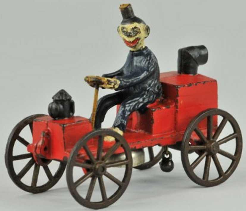 kenton hardware co spielzeug gusseisen auto happy hooligan