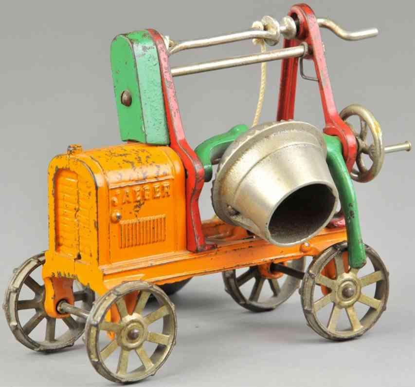 kenton hardware co gusseisen jaeger betonmischmaschine orange rot gruen
