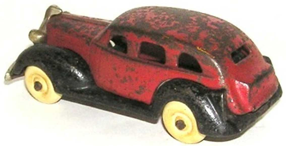 kenton hardware co spielzeug gusseisen auto pontiac mit typ 1 vernickeltem kuehlergrill