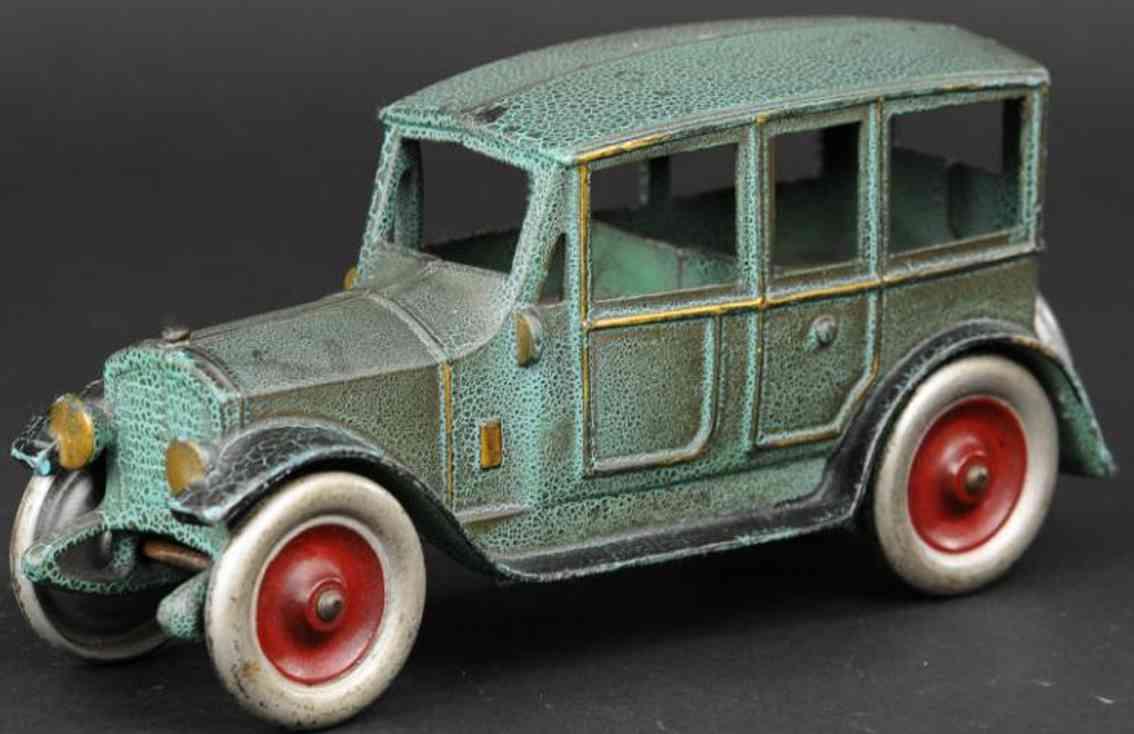 kenton hardware co spielzeug gusseisen auto hellblau