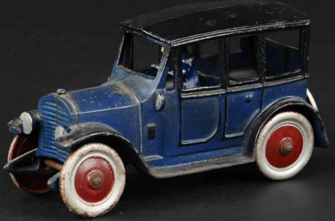 kenton hardware co gusseisen auto blau schwarz