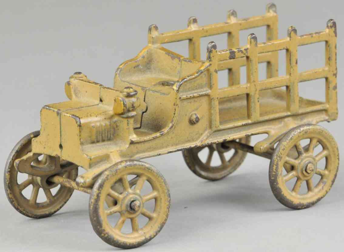 kenton hardware co spielzeug gusseisen lastwagen rungen olivgruen